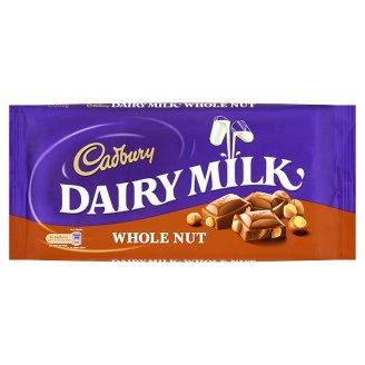 Cadbury Czekolada mleczna z orzechami laskowymi