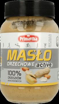 Primavika, masło orzechowe z prażonych orzeszków arachidowych 100%