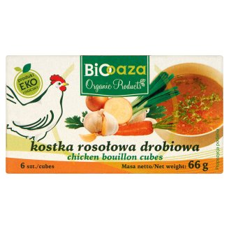 Biooaza Eko Kostka rosołowa drobiowa