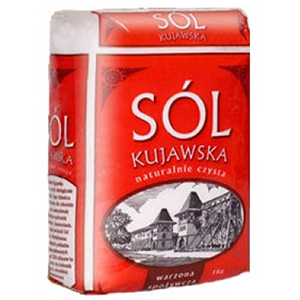 Kujawska Sól Warzona Jodowana