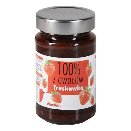 Auchan - Dżem truskawkowy 100% z owoców