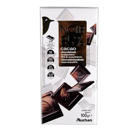 Auchan - Czekolada gorzka 86% kakao