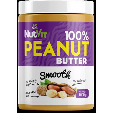 100% Masło Orzechowe 1000 g NutVit