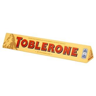 Toblerone Szwajcarska czekolada mleczna z nugatem miodowo-migdałowym