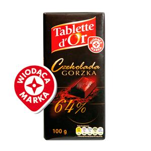 Wiodąca Marka Czekolada Gorzka 64%