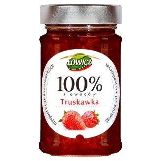 Łowicz 100% z owoców truskawka