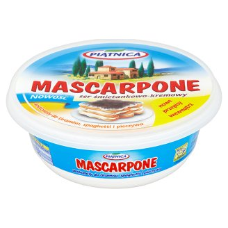 Piątnica Mascarpone Ser śmietankowo-kremowy
