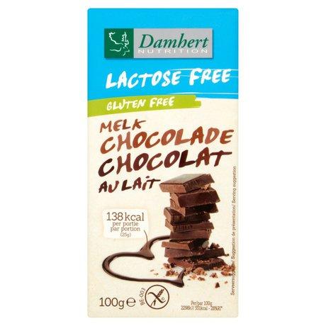 Damhert - Czekolada mleczna bez laktozy i glutenu