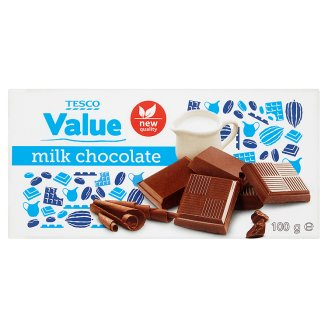 Tesco Value Czekolada mleczna