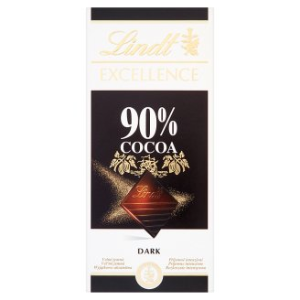Lindt Excellence 90% Cocoa Czekolada gorzka