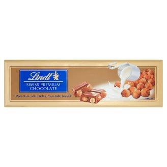 Lindt Szwajcarska czekolada mleczna z całymi orzechami laskowymi