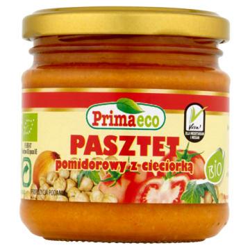 PRIMAECO Pasztet pomidorowy z cieciorką BIO