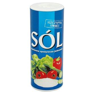Sól kamienna spożywcza jodowana