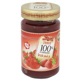 Tesco 100% z owoców Produkt owocowy z truskawek