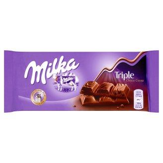 Milka Czekolada mleczna Triple Choco Cocoa