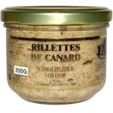 RILLETTES DE CANARD Rilette z kaczki duszonej