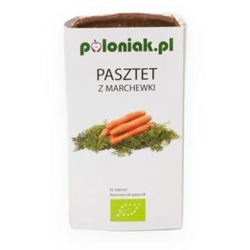 POLONIAK Pasztet wegański z marchewki BIO