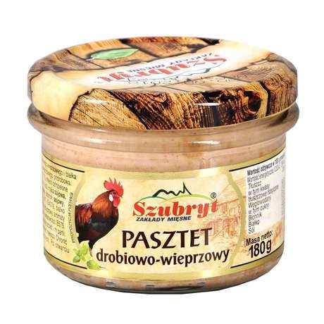 Szubryt - Pasztet drobiowo-wieprzowy