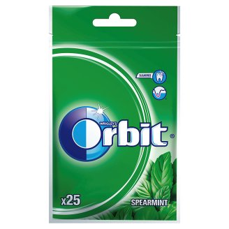 Orbit Spearmint Guma do żucia bez cukru