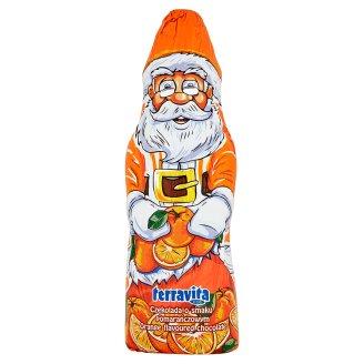 Terravita Kids Mikołaj z czekolady o smaku pomarańczowym