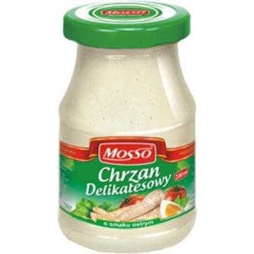 MOSSO Chrzan delikatesowy o smaku ostrym