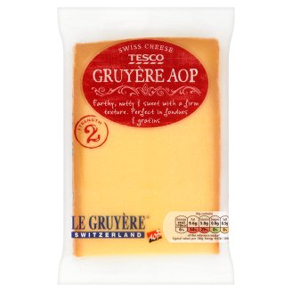 Tesco Gruyère AOP Pełnotłusty twardy ser