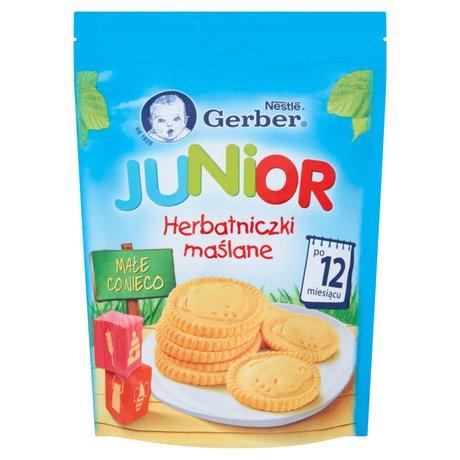 Gerber - Herbatniki Junior herbatniczki maślane po 12 miesiącu