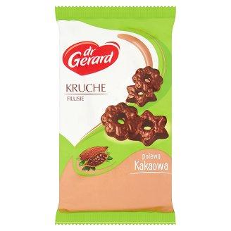 dr Gerard Filusie Kruche herbatniki w polewie kakaowej