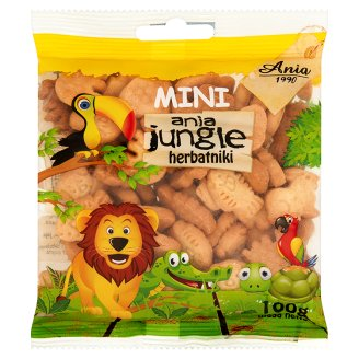 Ania Mini ania jungle Herbatniki