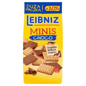 Leibniz Minis Choco Herbatniki w czekoladzie mlecznej