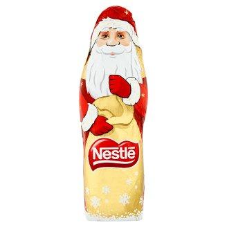 Mikołaj Figura z mlecznej czekolady