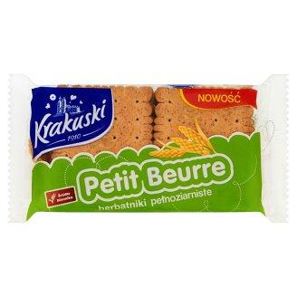 Krakuski Petit Beurre Herbatniki pełnoziarniste