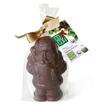 COCOA Mikołaj z czekolady migdałowej 52% BIO