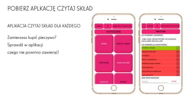 aplikacja na zakupy