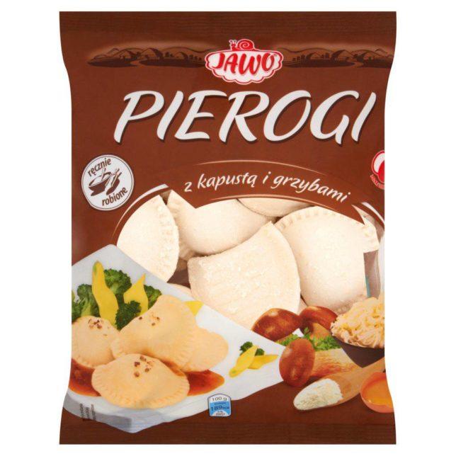 Jawo Pierogi z kapustą i grzybami