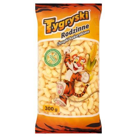 Tygryski - Rodzinne chrupki kukurydziane bezglutenowe