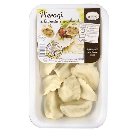 Bacówka - Pierogi z kapustą i grzybami