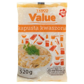 Tesco Value Kapusta kwaszona