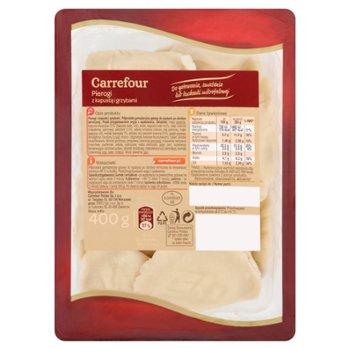 Carrefour Pierogi z kapustą i grzybami