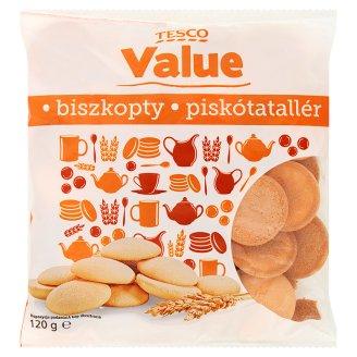 Tesco Value Biszkopty o smaku waniliowym