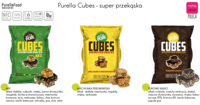 Purella cubes