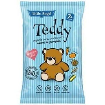 Teddy Chrupki kukurydziane mini - marchew i dynia - od 7 miesiąca BIO