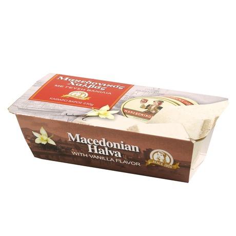 Haitoglou Bros - Macedońska chałwa o smaku waniliowym