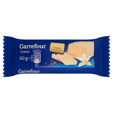 Carrefour Chałwa o smaku waniliowym