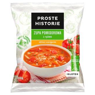 Proste Historie Zupa pomidorowa z ryżem