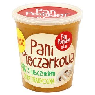 Pan Pomidor & Co Pani Pieczarkowa z lubczykiem Zupa tradycyjna