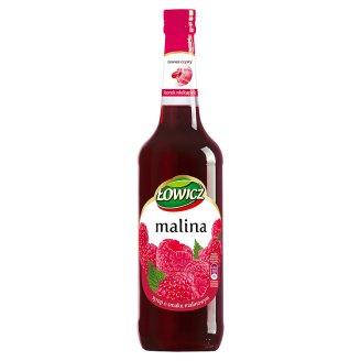 Łowicz Syrop o smaku malinowym