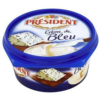 Président Crème de Bleu Ser topiony