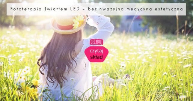 Fototerapia światłem LED – bezinwazyjna medycyna estetyczna