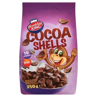 Breakfast King Pszenne muszelki kakaowe